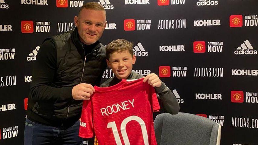 Wie Papa Wayne: Kai Rooney unterschreibt Kicker-Vertrag