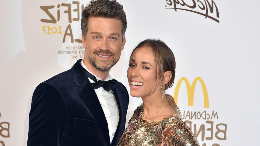 Wayne und Annemarie Carpendale bei einer McDonald's-Charity-Gala
