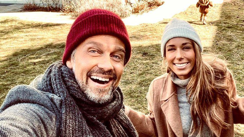Wayne und Annemarie Carpendale im März 2020 in München