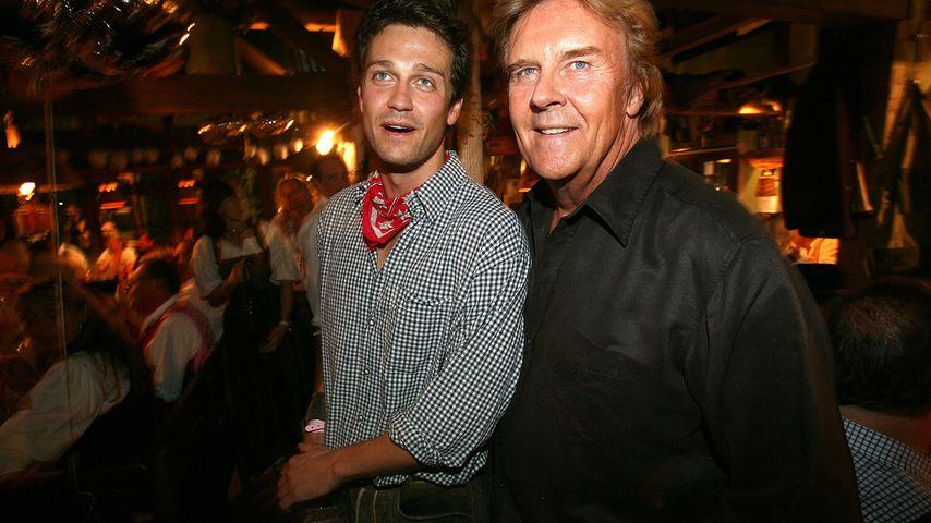 Wayne und Howard Carpendale bei der Almauftriebparty in München im September 2007