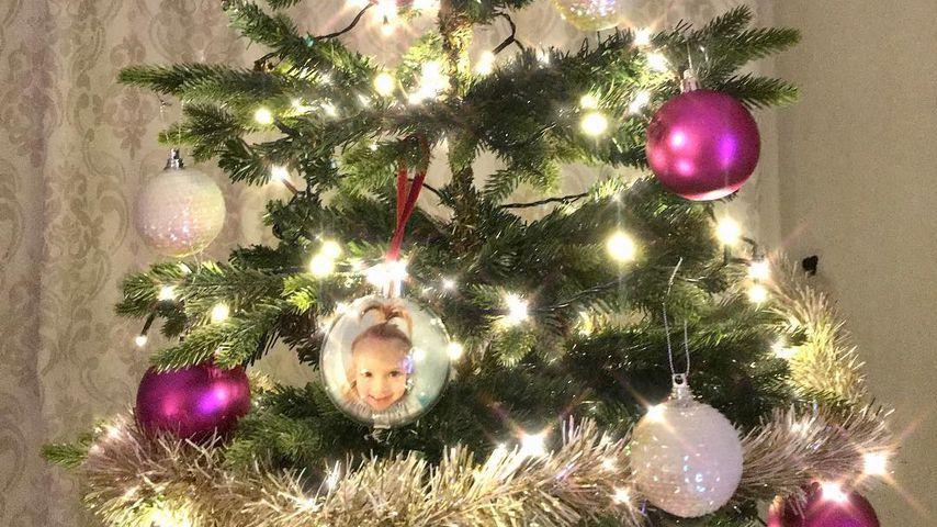 Weihnachtsbaum von Daniela Katzenberger