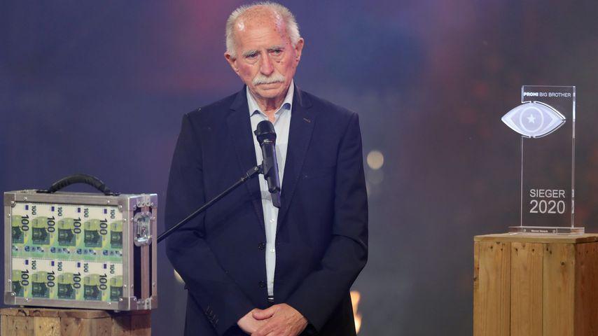Werner Hansch im August 2020