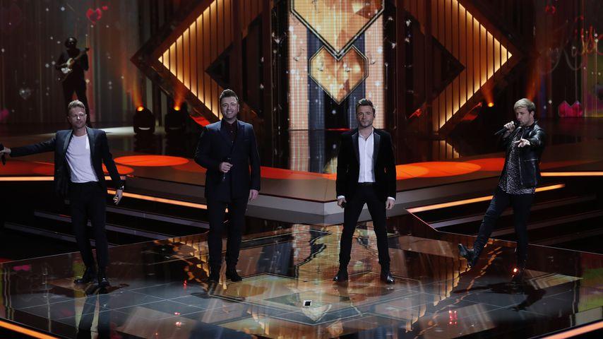 Westlife bei der Verleihung der Goldenen Kamera