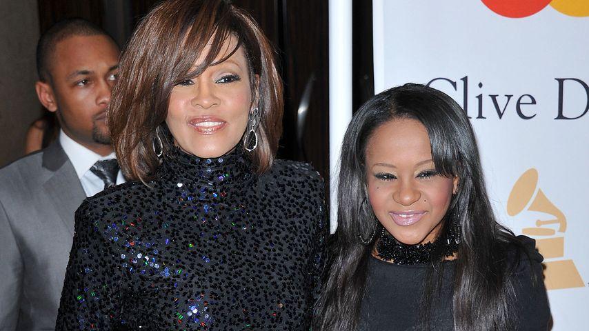Whitney Houston mit ihrer Tochter Bobbi Kristina