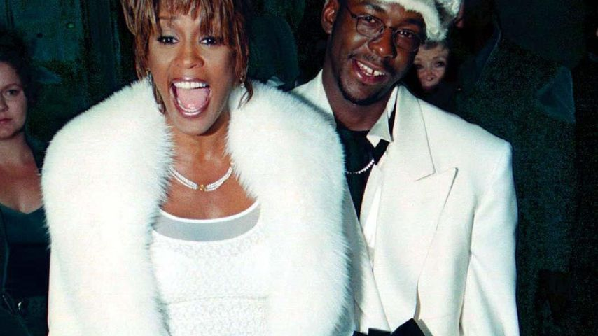 Whitney Houston, Bobby Brown und Bobbi Kristina 1999