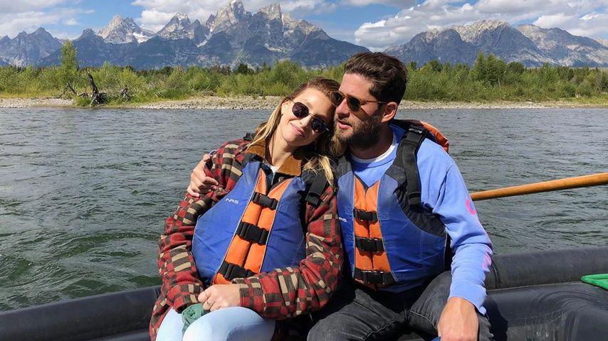 Whitney Port mit ihrem Partner Tim