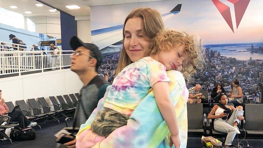 Whitney Port und ihr Sohn