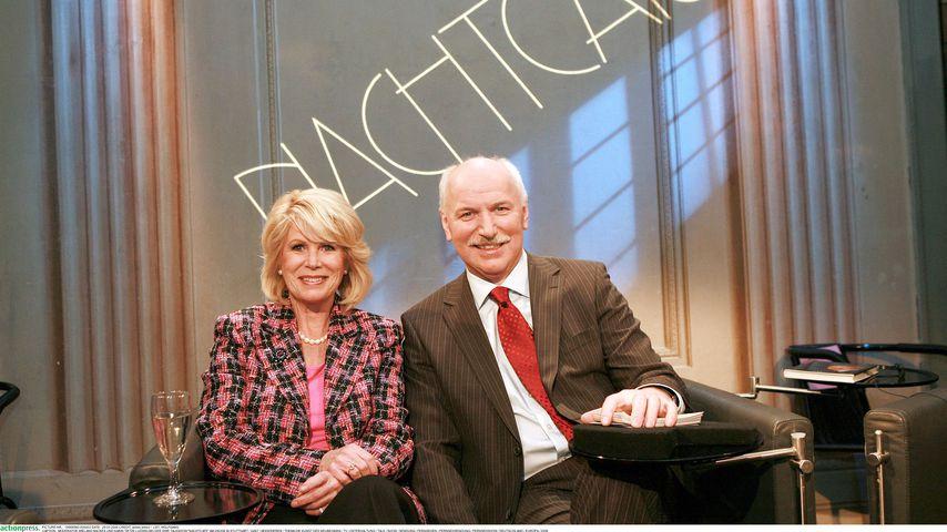 """Wieland Backes und Karin Tietze-Ludwig bei """"Nachtcafé"""" 2006"""