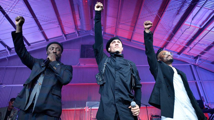 Will.i.am, Taboo und apl.de.ap bei einem Auftritt als Black Eyed Peas