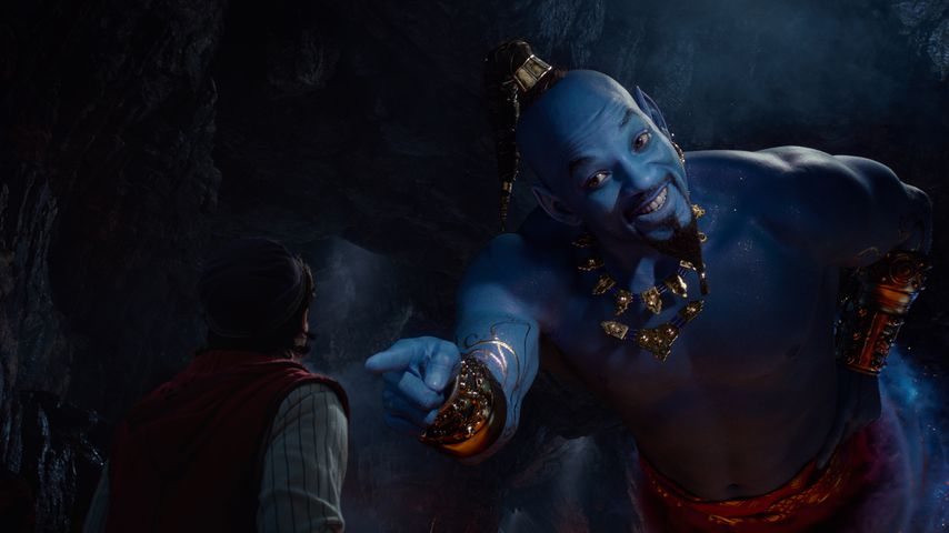 "Will Smith ganz in Blau: Erster Trailer zu Disneys ""Aladdin"""