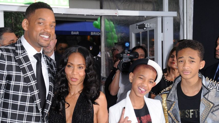 Will Smith, Jada Pinkett-Smith, Willow und Jaden Smith
