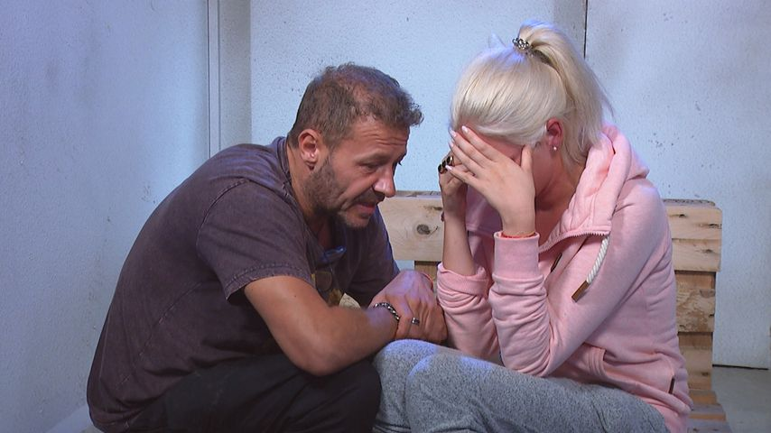 "Willi Herren und Sarah Knappik bei ""Promi Big Brother"""