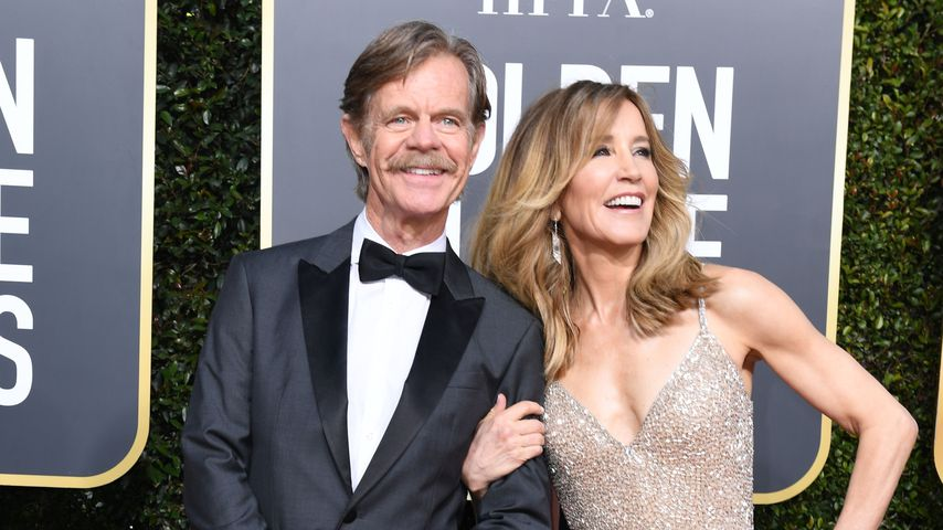 William H. Macy und Felicity Huffman bei den Golden Globes 2019