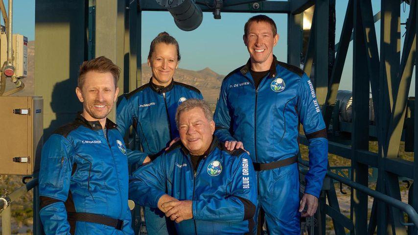 William Shatner mit seiner Weltraum-Crew