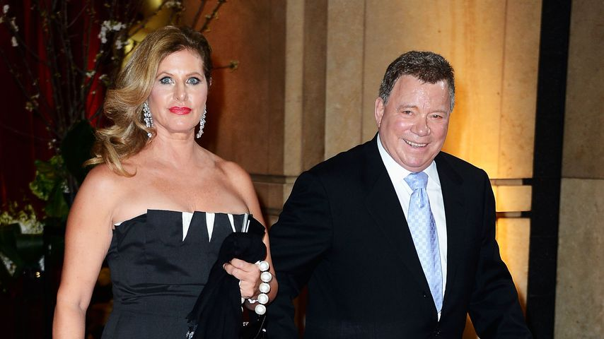 Elizabeth und William Shatner 2013 in Hollywood