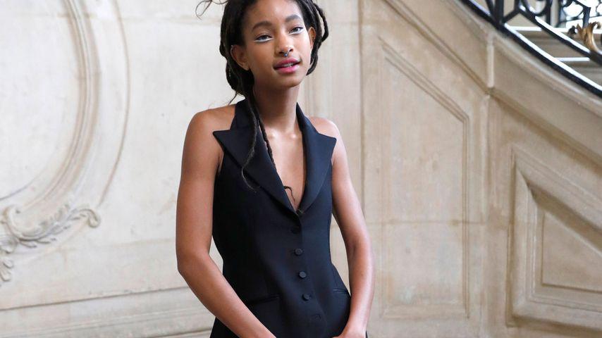 """Willow Smith bei der """"Christian Dior Haute Couture Spring Soummer Show"""" auf der Pariser Fashion Week"""