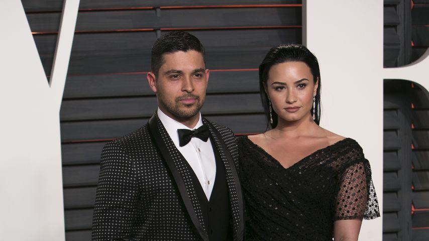 Wilmer Valderrama und Demi Lovato bei der Vanity Fair Oscar Party 2016