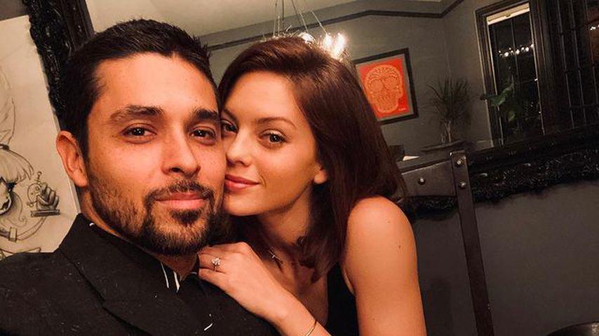 Wilmer Valderrama und seine Partnerin Amanda Pacheco im Mai 2020 in Los Angeles