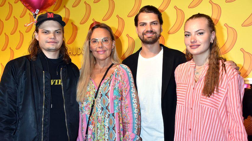 Wilson Gonzalez, Natascha, Jimi Blue und Cheyenne Ochsenknecht im Mai 2019 in Berlin