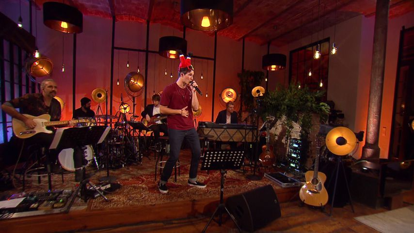 """Wincent Weiss bei """"Sing meinen Song – Die Weihnachtsparty"""""""