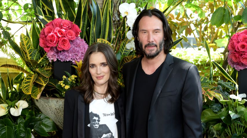 Winona Ryder und Keanu Reeves in Beverly Hills 2018