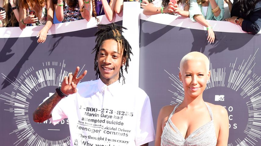 Wiz Khalifa und Amber Rose bei MTV Video Music Awards 2014