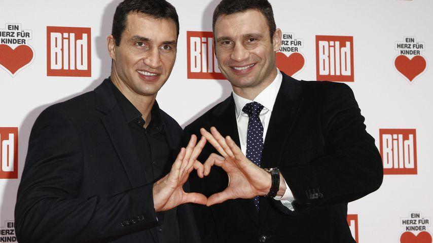 Style-Twins: Die Klitschko-Brüder im Partner-Look
