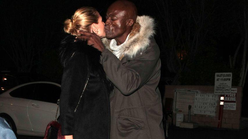 Weihnachts-Wunder? Heidi Klum & Seal küssen sich