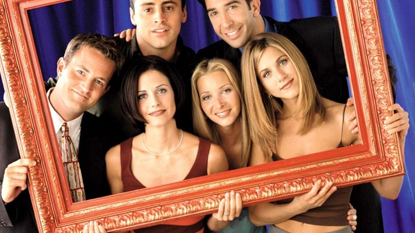 Jennifer Aniston, Courteney Cox, Matthew Perry, David Schwimmer, Lisa Kudrow und Matt LeBlanc