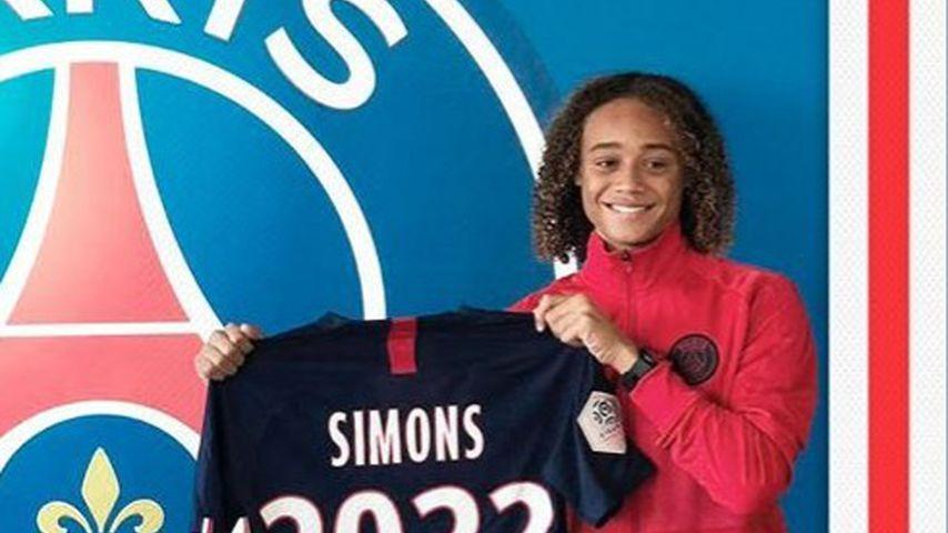 Xavi Simons, Nachwuchsfußballer