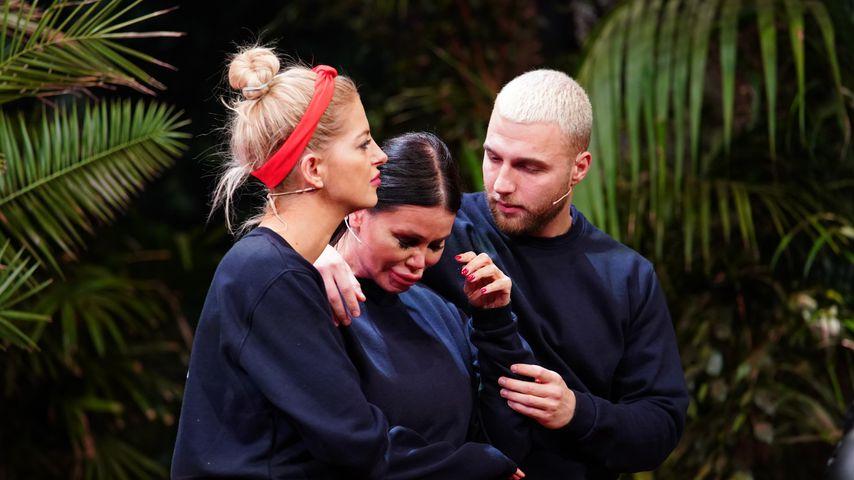 Xenia, Djamila und Filip in der Dschungelshow