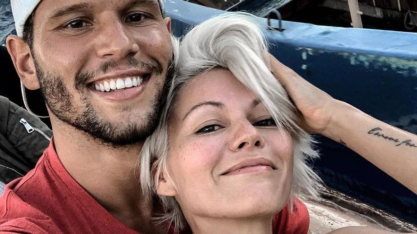 Yanik Strunkey und Louisa Mazzurana