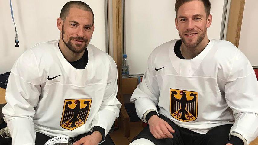 Yannic Seidenberg und Marcus Kink, Profi-Eishockeyspieler