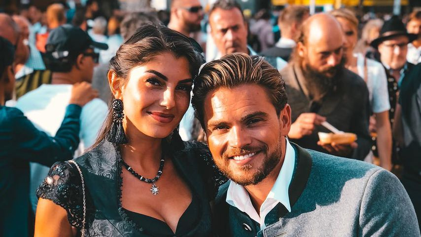 Yeliz Koc und Johannes Haller auf dem Oktoberfest 2018