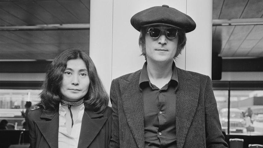 Yoko Ono und John Lennon im Juli 1971