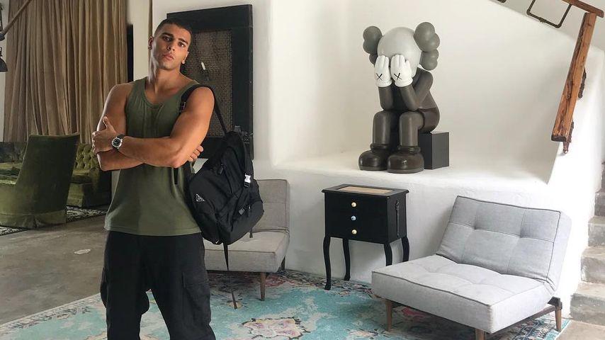 Younes Bendjima, männliches Model