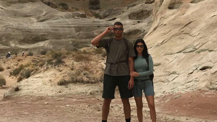 Waghalsiger Trip: Kourtney & Younes auf Canyon-Tour!