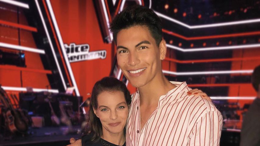 """Yvonne Catterfeld und Juan Geck bei """"The Voice of Germany"""""""