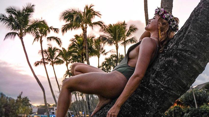 Yvonne Pferrer auf Hawaii
