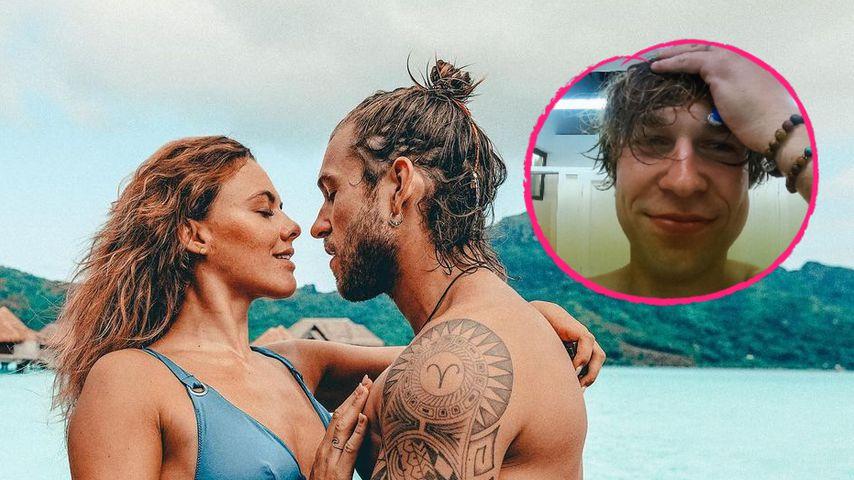 Neuer Look: Jeremy Grube überrascht Yvonne Pferrer ohne Bart