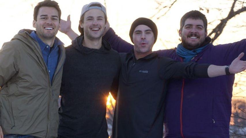 Zac Efron sein Bruder Dylan und seine Jungs beim Angeln