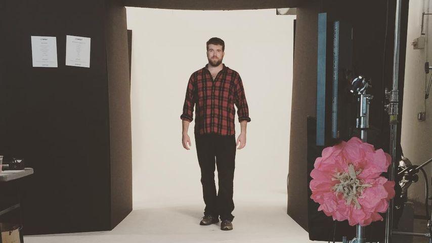 Zach Miko bei einem Fotoshooting