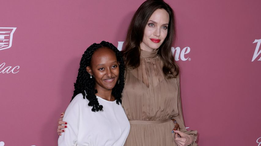 Cooles Mama-Tochter-Duo: Angelina Jolie mit Zahara bei Event