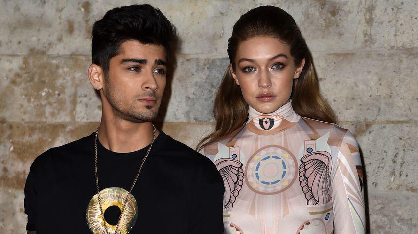 Zayn Malik und Gigi Hadid auf der Fashion Week in Berlin