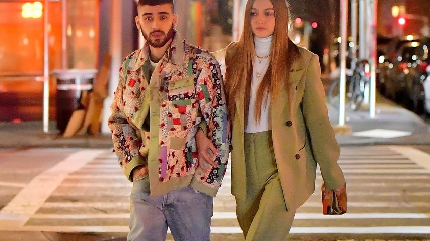 Zayn Malik und Gigi Hadid in New York City