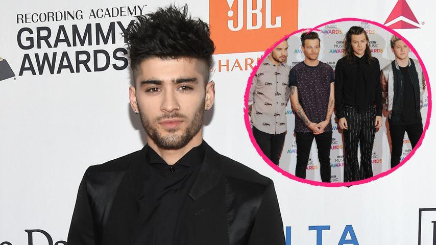 Zayn Malik schockt 1D-Fans: Keiner der Jungs war sein Freund