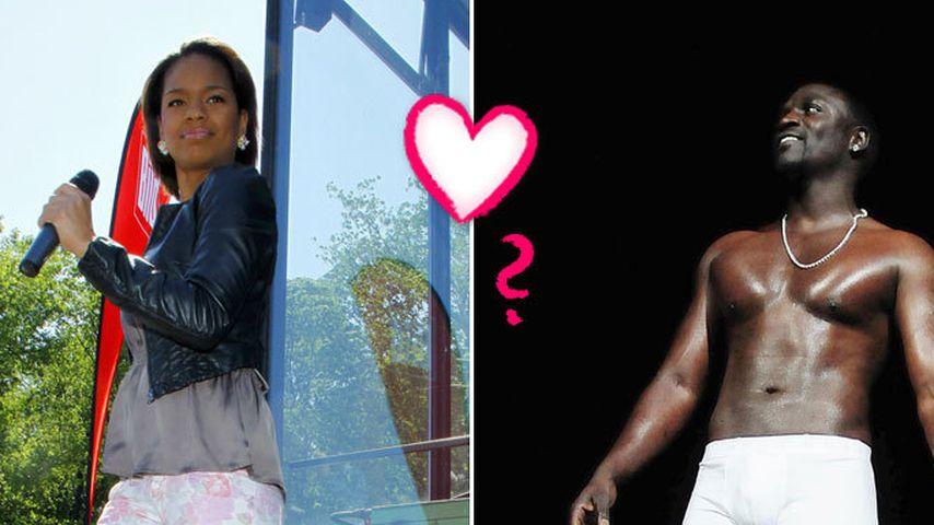 Was geht da zwischen Zazou Mall und R&B-Star Akon?