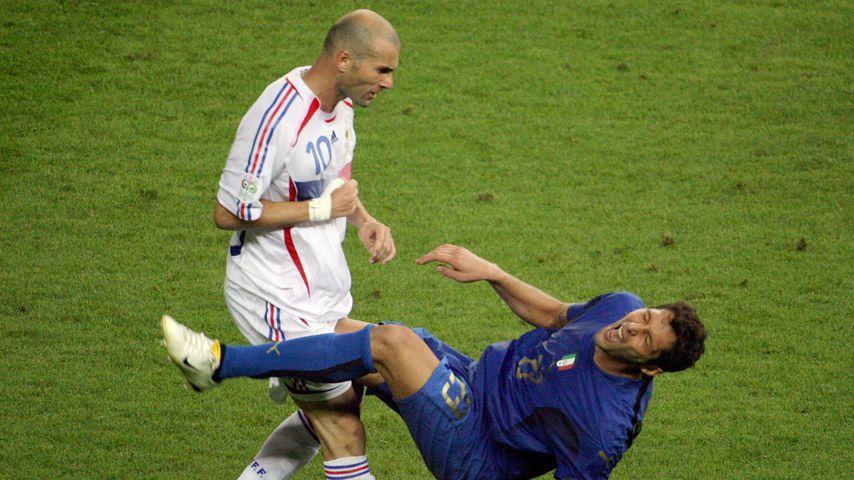 Zinedine Zidane und Marco Materazzi, WM 2006
