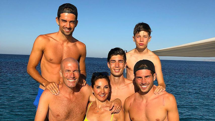 Ex-Profifußballer Zinedine Zidane: So hot ist seine Family