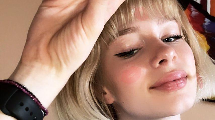 Komplettes Umstyling: Ex-GNTM-Zoe verbannt ihre Wallemähne
